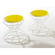 Sgabello/tavolino Barel Clessidra