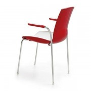 Chaise Now 4 legs with arms Infiniti